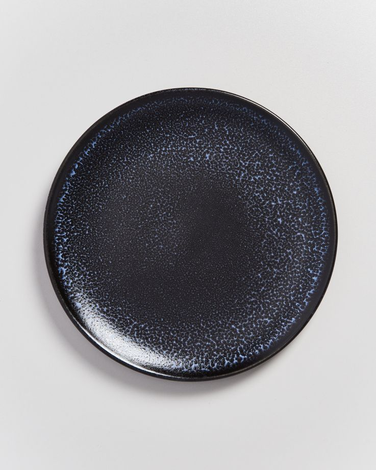 TURMALINA - Plate small black 2