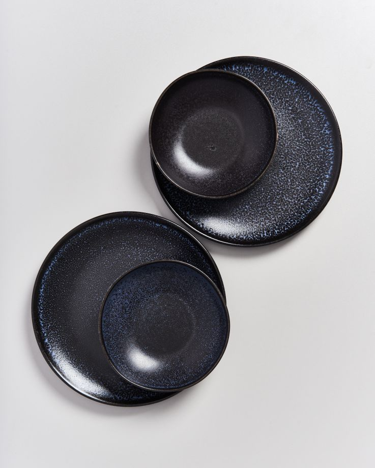 Turmalina Miniteller tief schwarz 2