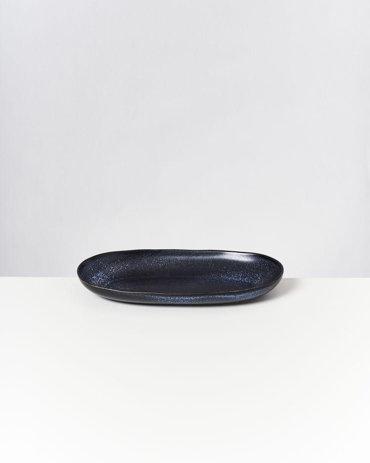 TURMALINA - Serving Platter L black 2