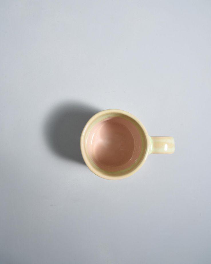 Nódoa Tasse rosa gesprenckelt 2