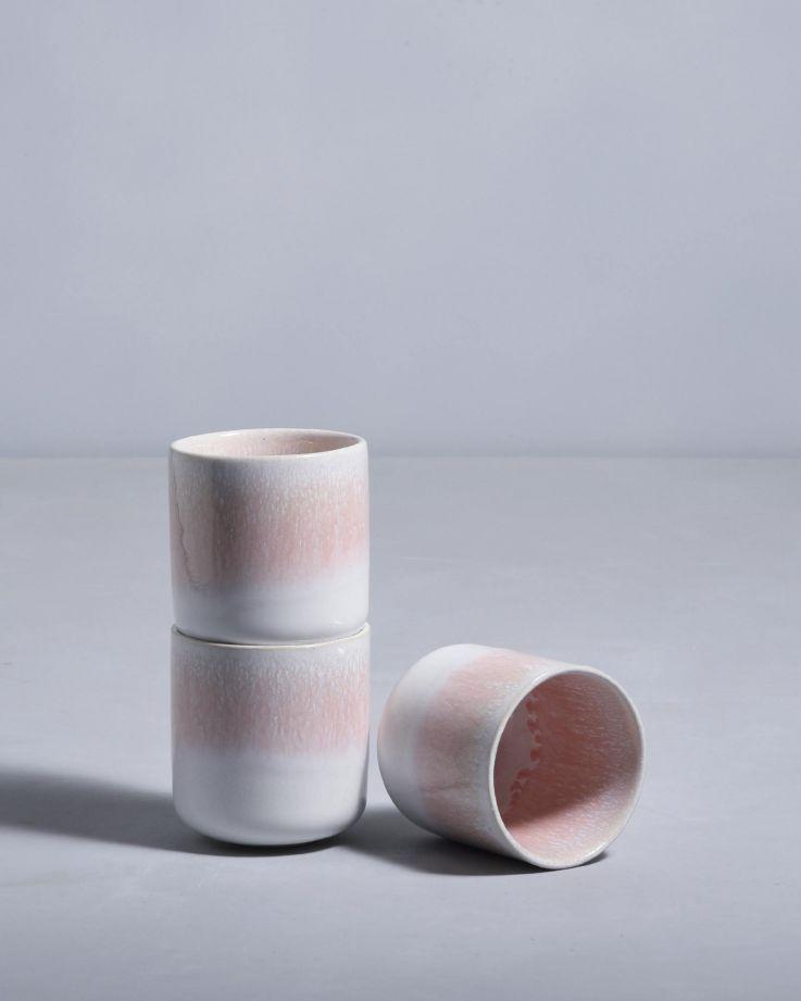 Alachofra Becher klein peach 2