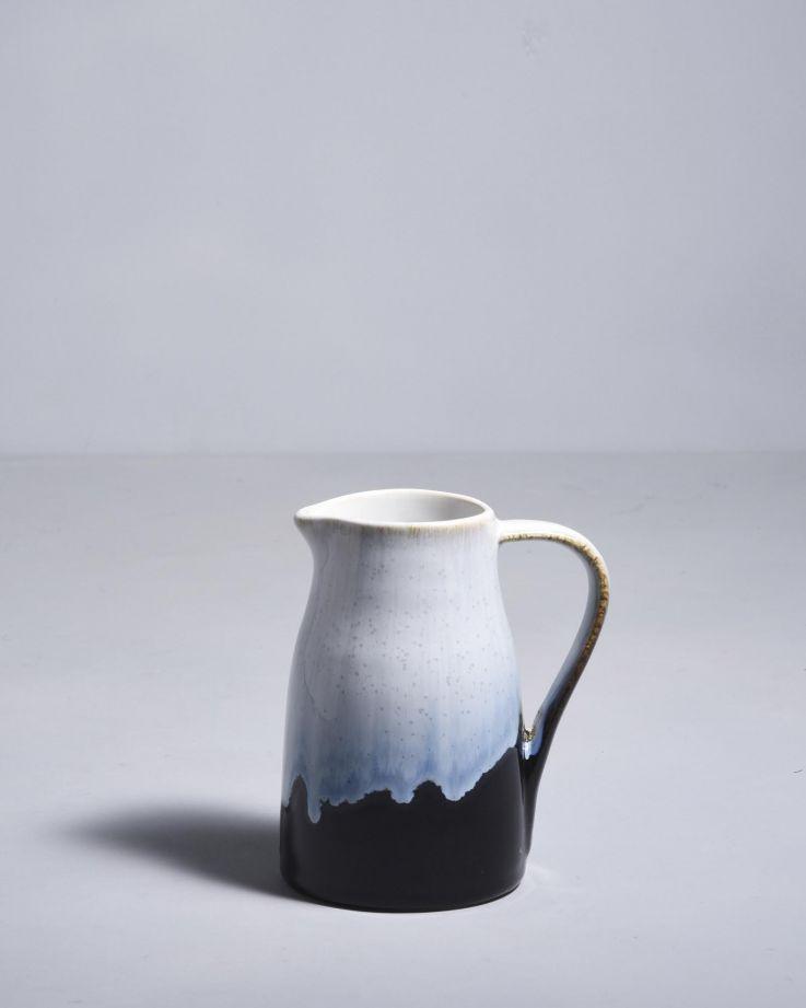 Alachofra Milchkanne schwarz 2
