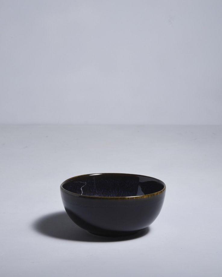 Alcachofra Müslischale schwarz 2