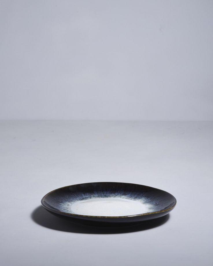 Alachofra Teller klein schwarz 2