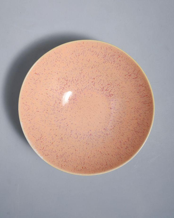 Areia Servierschale klein flach pink 2