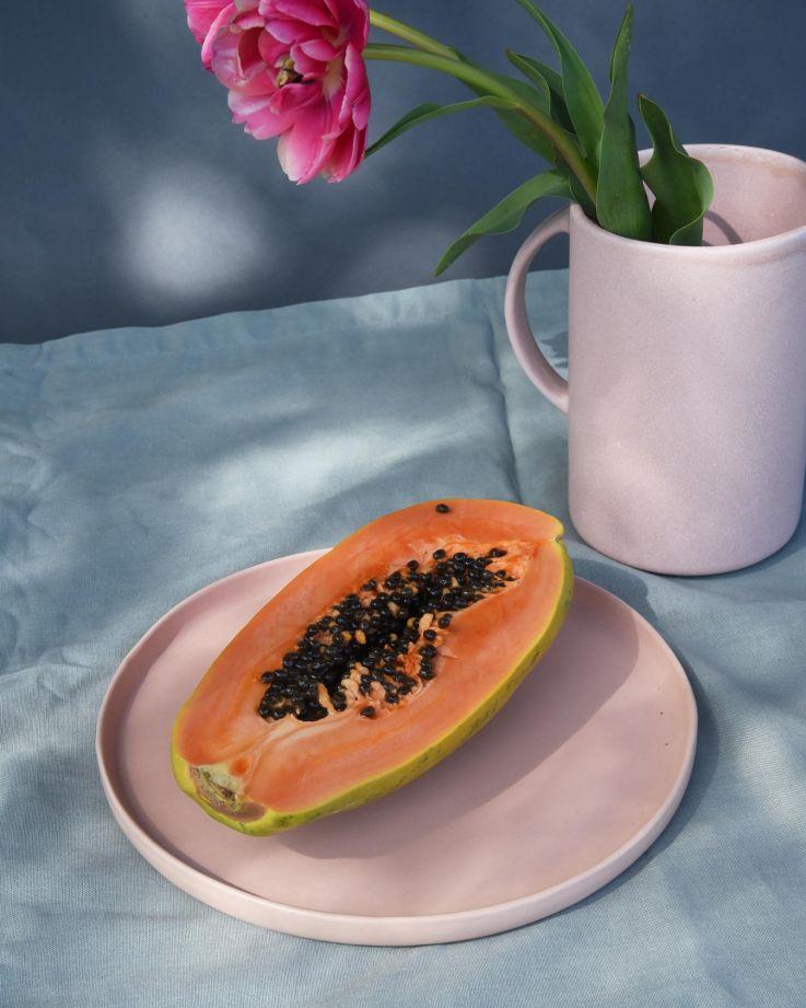 MACIO - Plate large rose 2