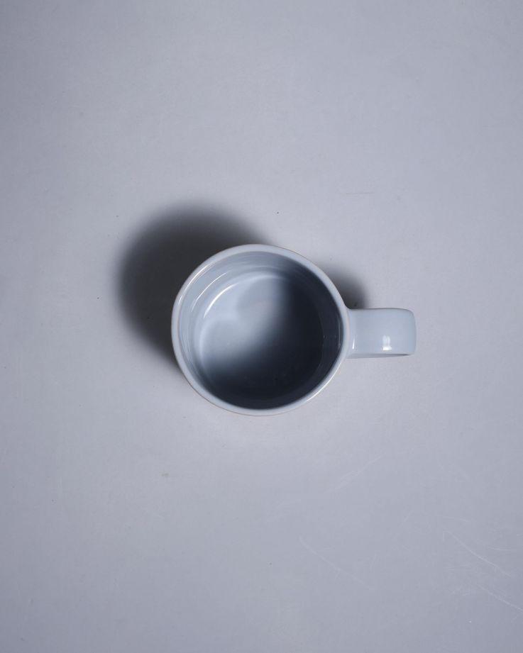 Nódoa Tasse grau weiß gestreift 2