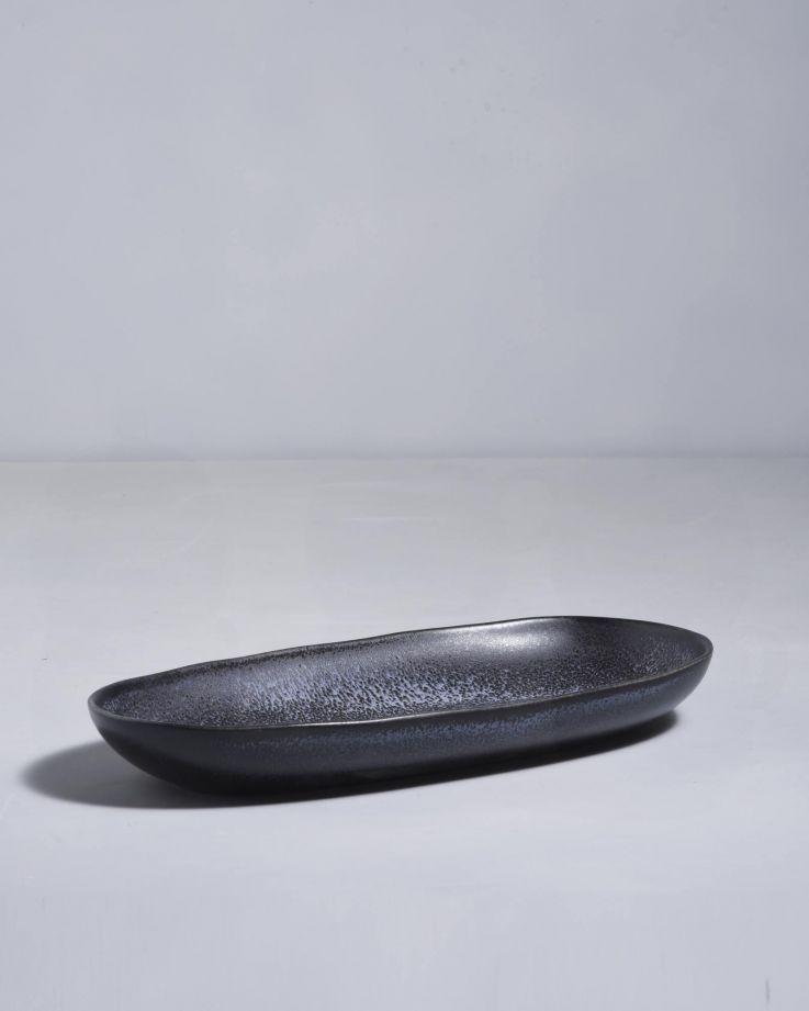 Turmalina Servierplatte L schwarz 2