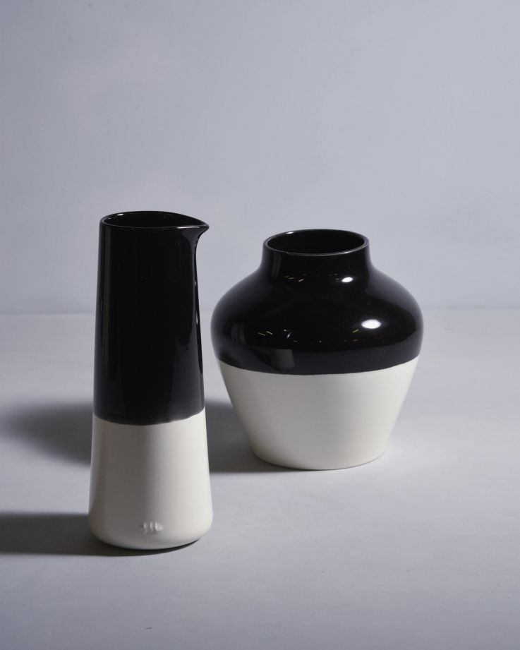 PINGUIM - Decanter black white 2