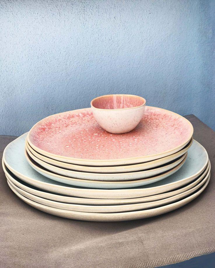 Areia Teller klein pink 2