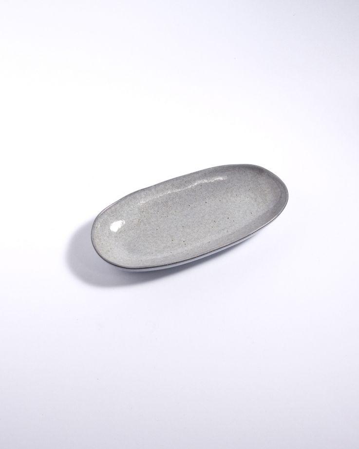 Mae Servierplatte M grau 2
