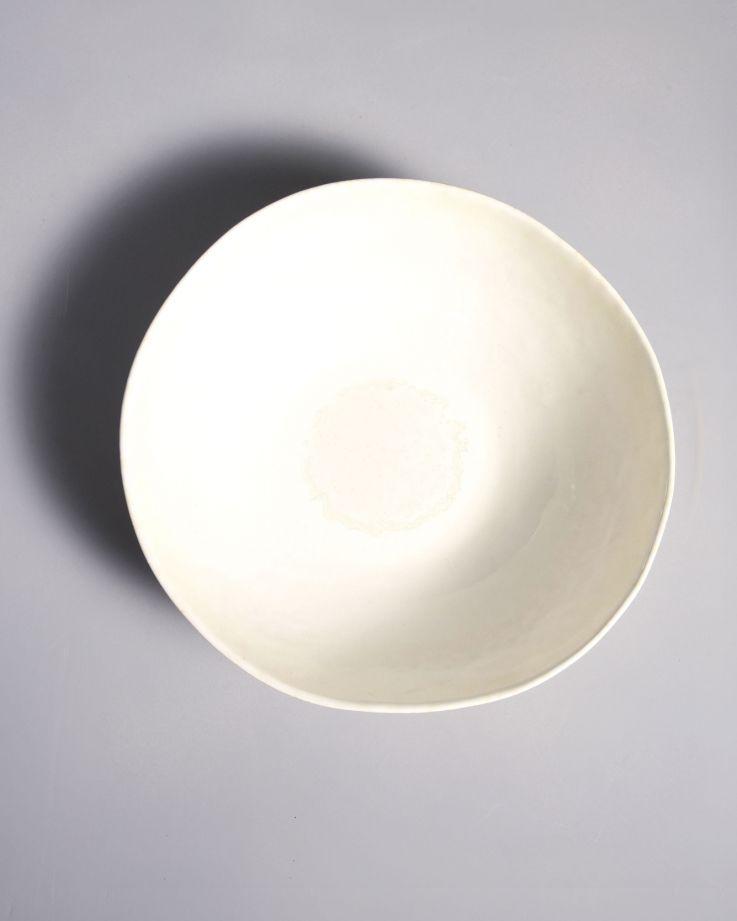 Tróia Servierschale weiß 2