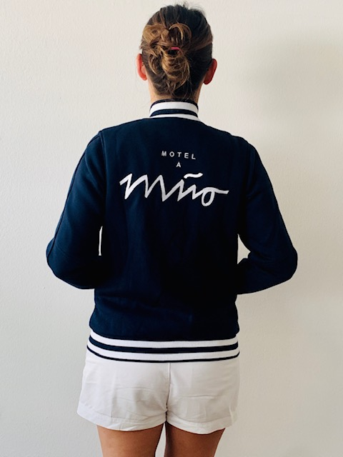 Girls College Jacke navy 3