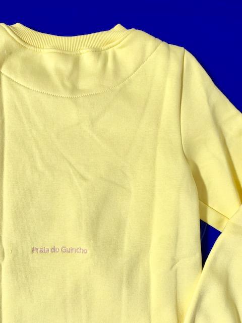 Girls Sweatshirt Lemon 3