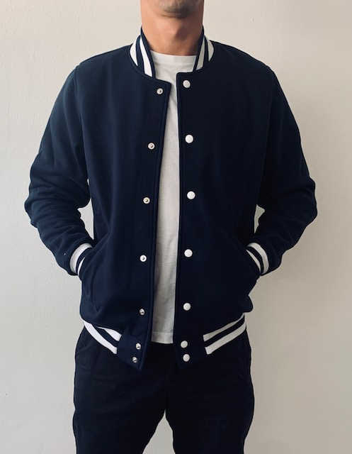 Boys College Jacke navy 3