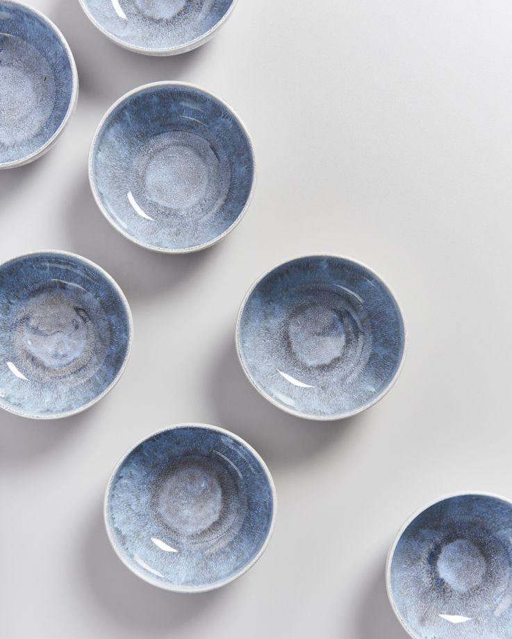 Alcachofra Müslischale graublau 3