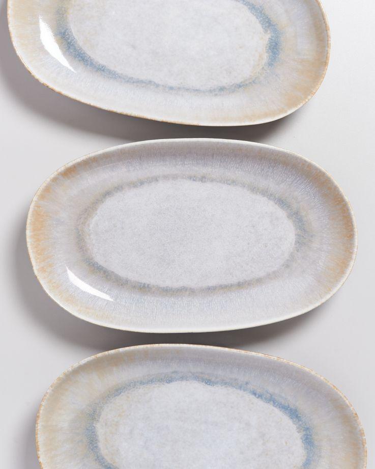 Alcachofra Servierplatte L graublau 3