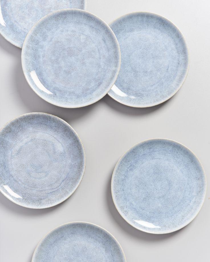 Alcachofra Teller klein graublau 3