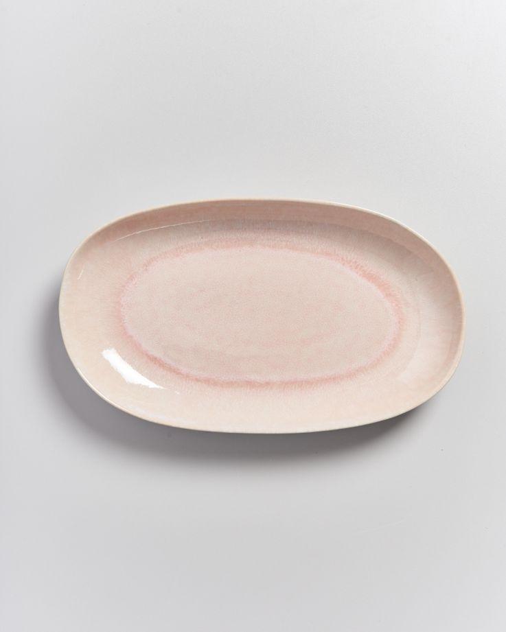 Alcachofra Servierplatte L peach 3