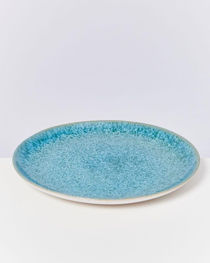 Areia Teller groß aqua 3
