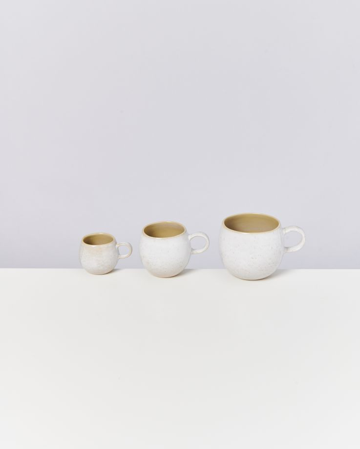AREIA - Set of 4 Cups small mauve 3