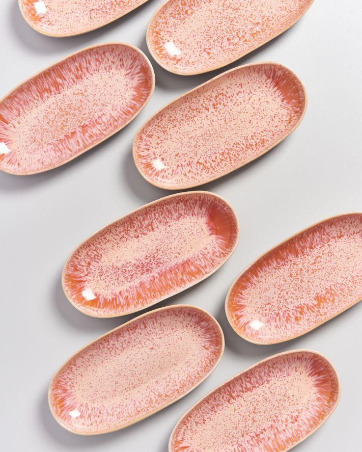 Areia Servierplatte M pink 3
