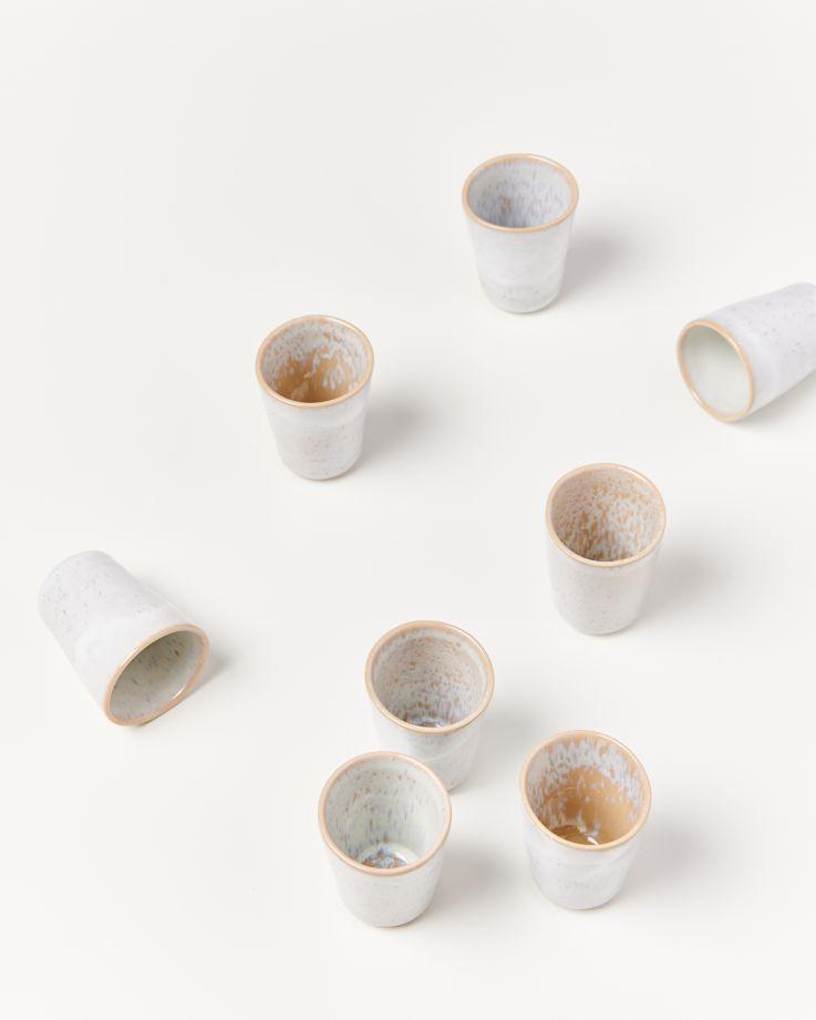 Areia 4er Set Espressobecher sand 3