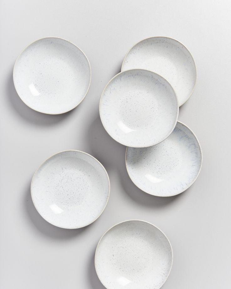 Areia Miniteller tief weiß 3