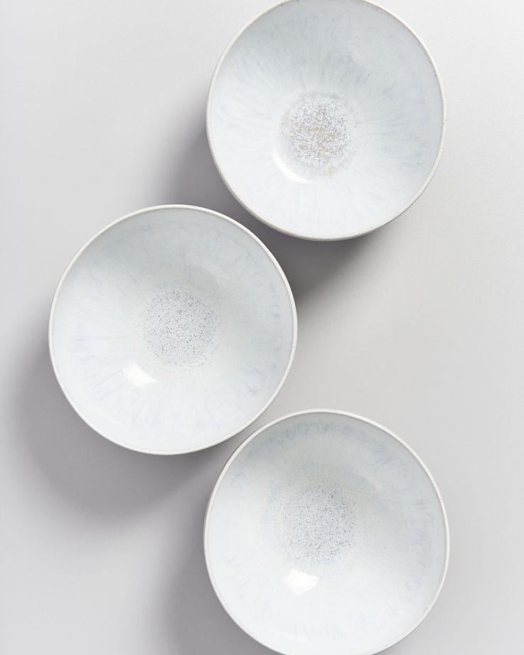 Areia Suppenschale weiß 3