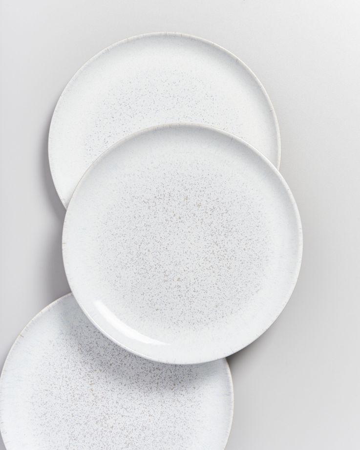Areia Teller groß weiß 3