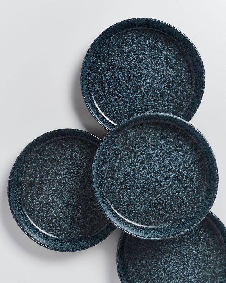 Caparica Pastateller grün schwarz 3