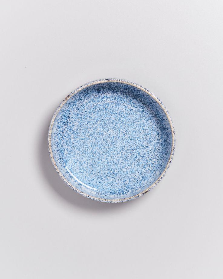 Cordoama Miniteller tief blau gesprenkelt 3