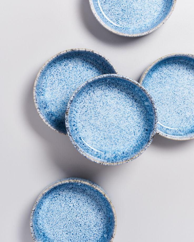 Cordoama Müslischale blau gesprenkelt 3