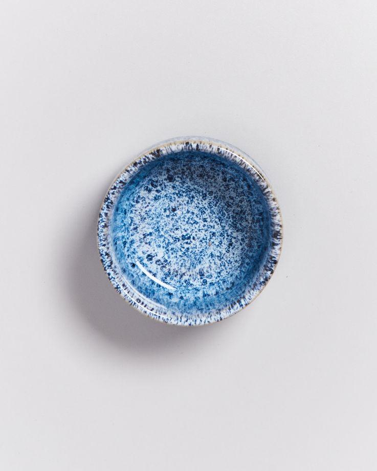Cordoama Saucenschälchen 9 cm blau gesprenkelt 3
