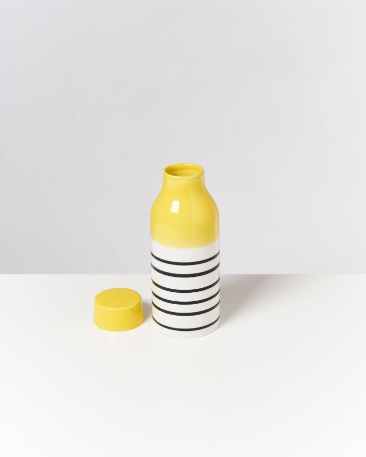 Garrafa gelb schwarz gestreift 3