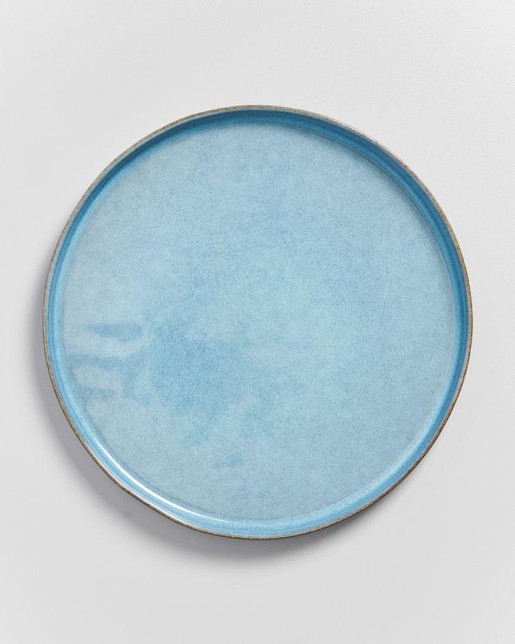 Lua Teller groß blau 3
