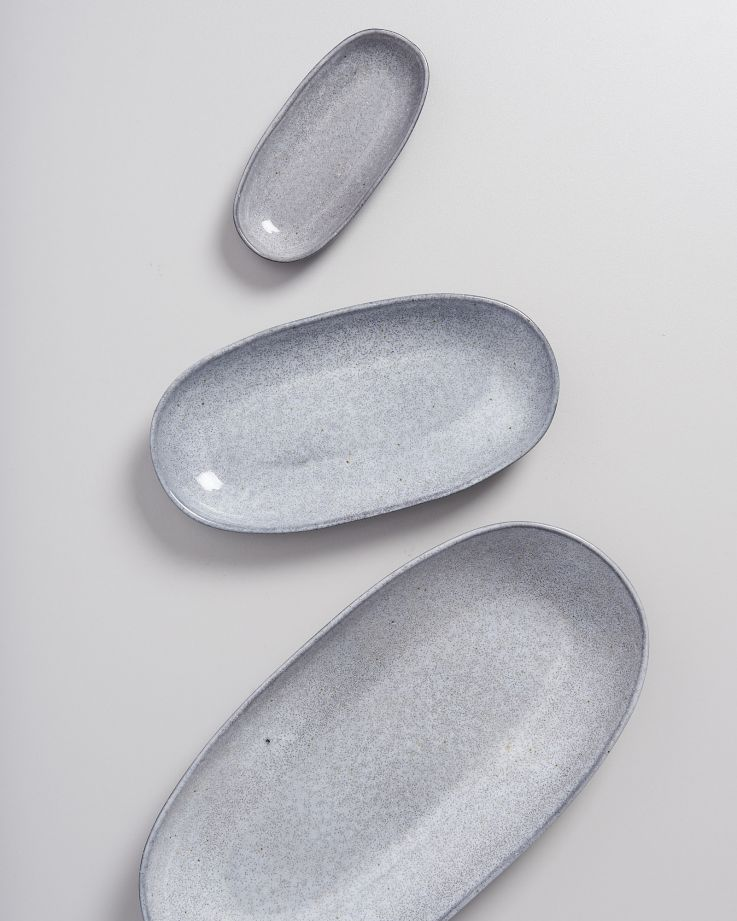 MAE - Serving Platter M grey 3