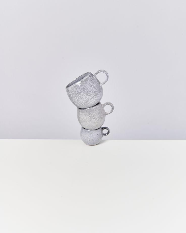 Mae Tasse groß grau 3