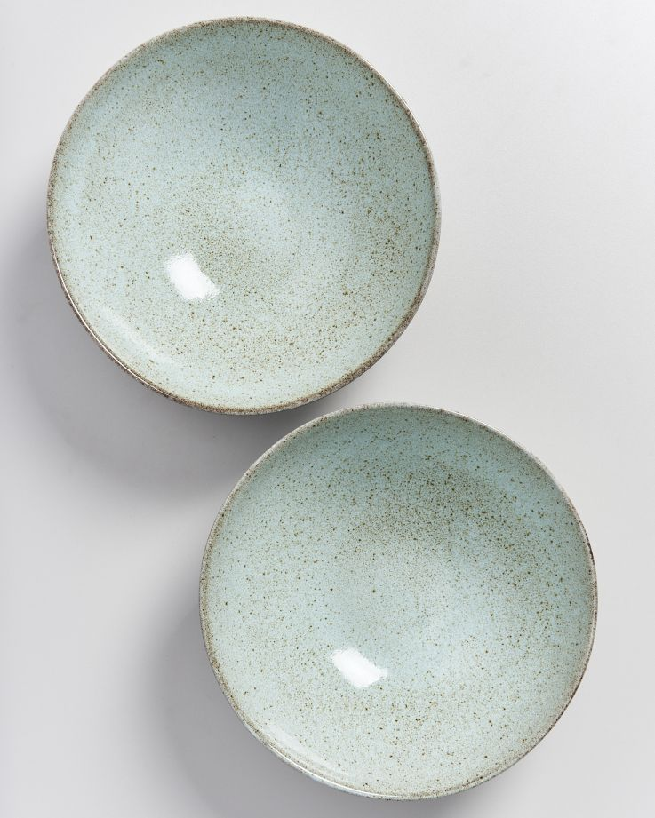 MAE - Servingbowl flat small mint 3