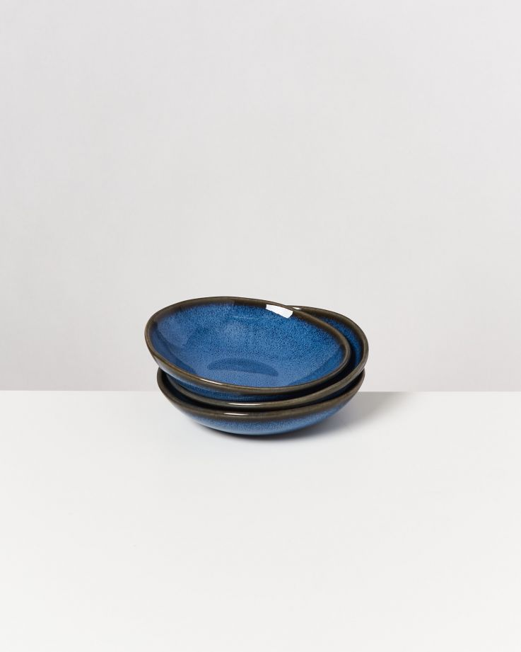 Melides Miniteller tief blau 3