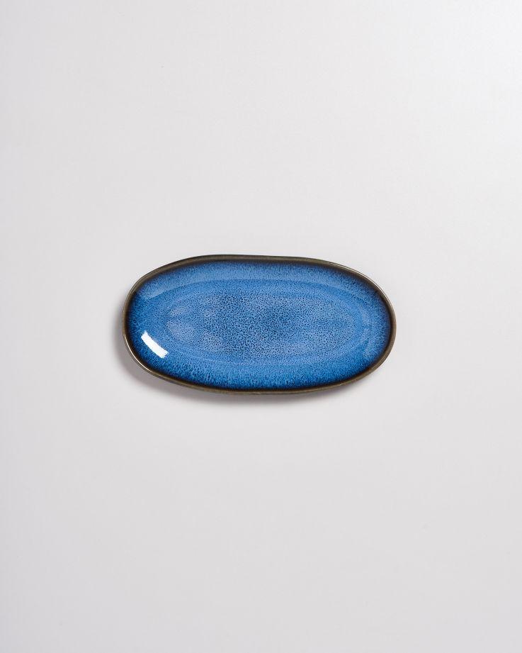 Melides Servierplatte M blue 3