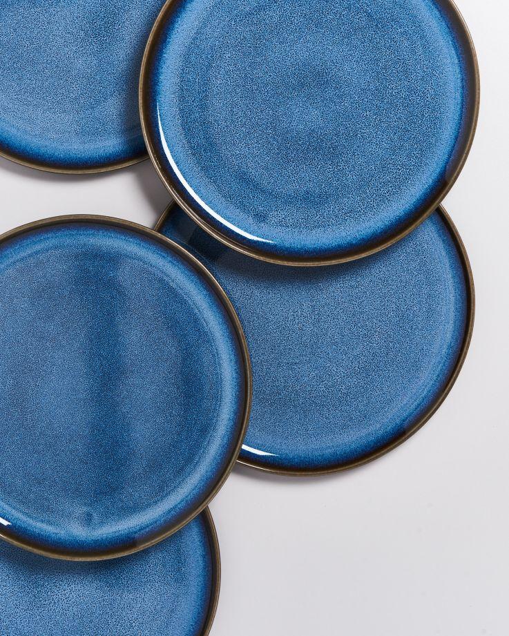 Melides Teller groß blue 3