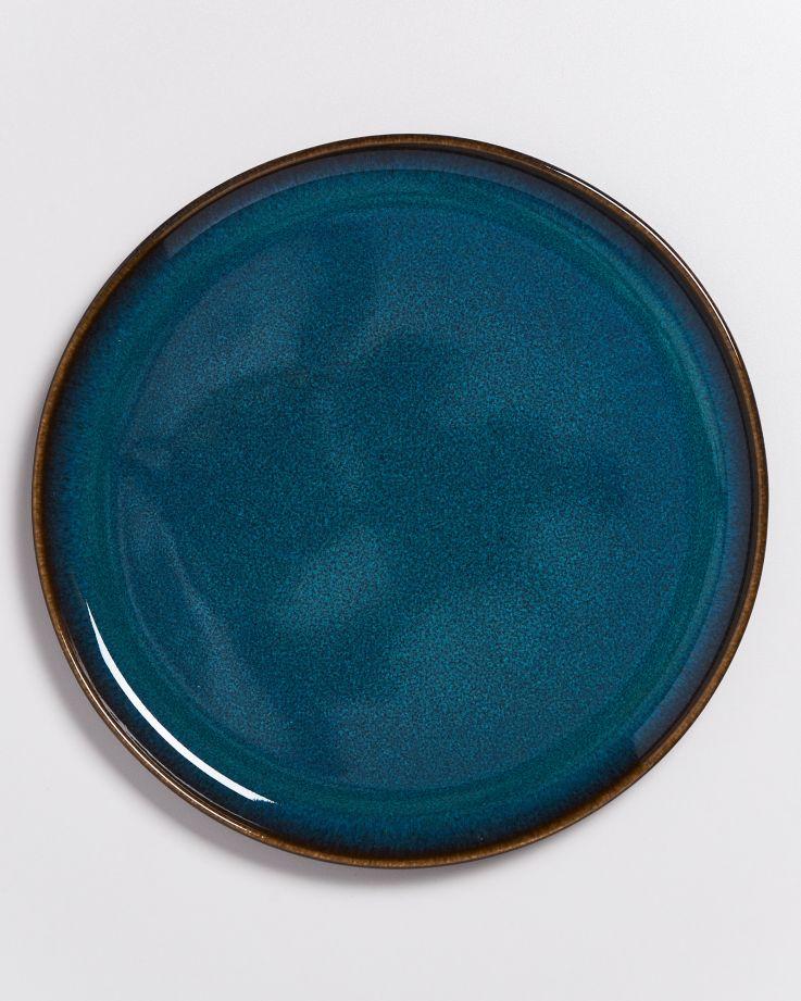 Melides Teller groß oceanblue 3