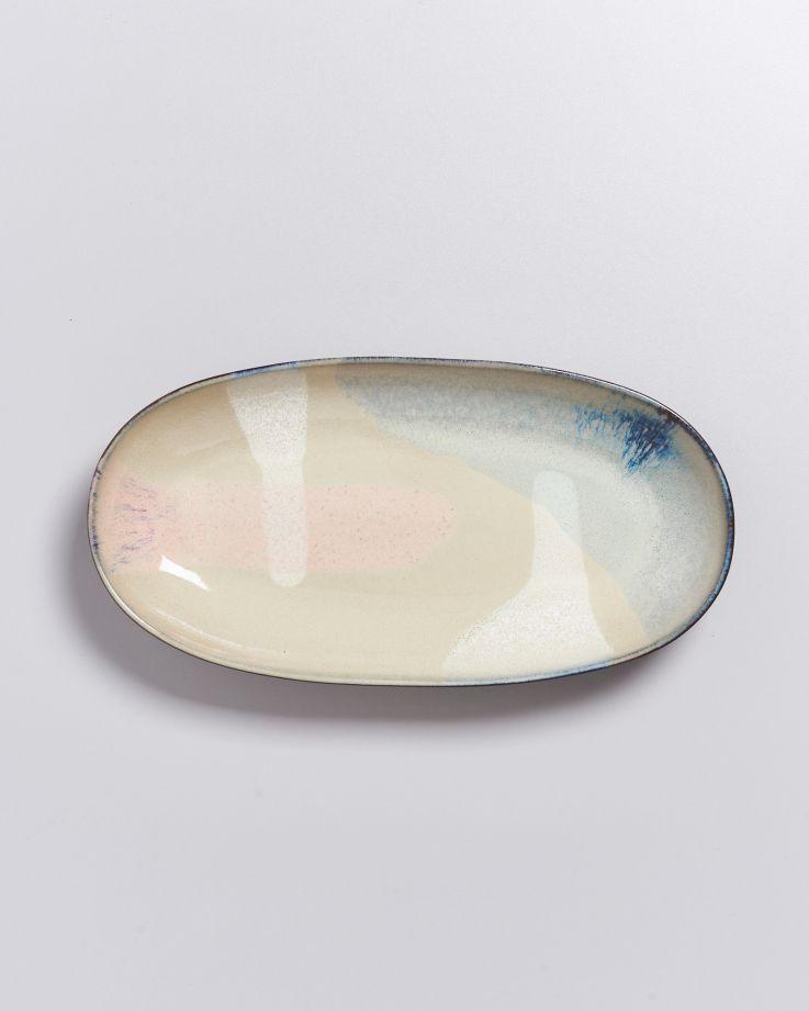 Pintor Servierplatte L vanille 3