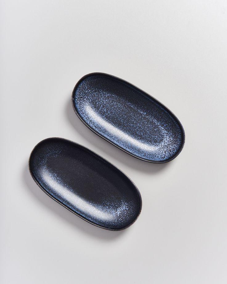 Turmalina Servierplatte M schwarz 3