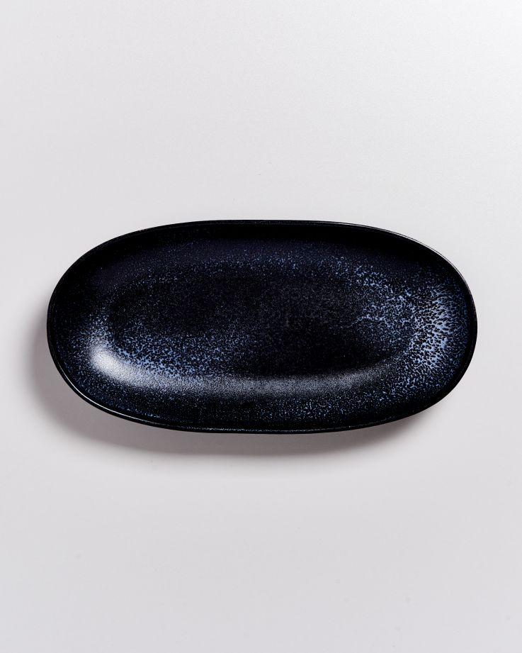 TURMALINA - Serving Platter L black 3