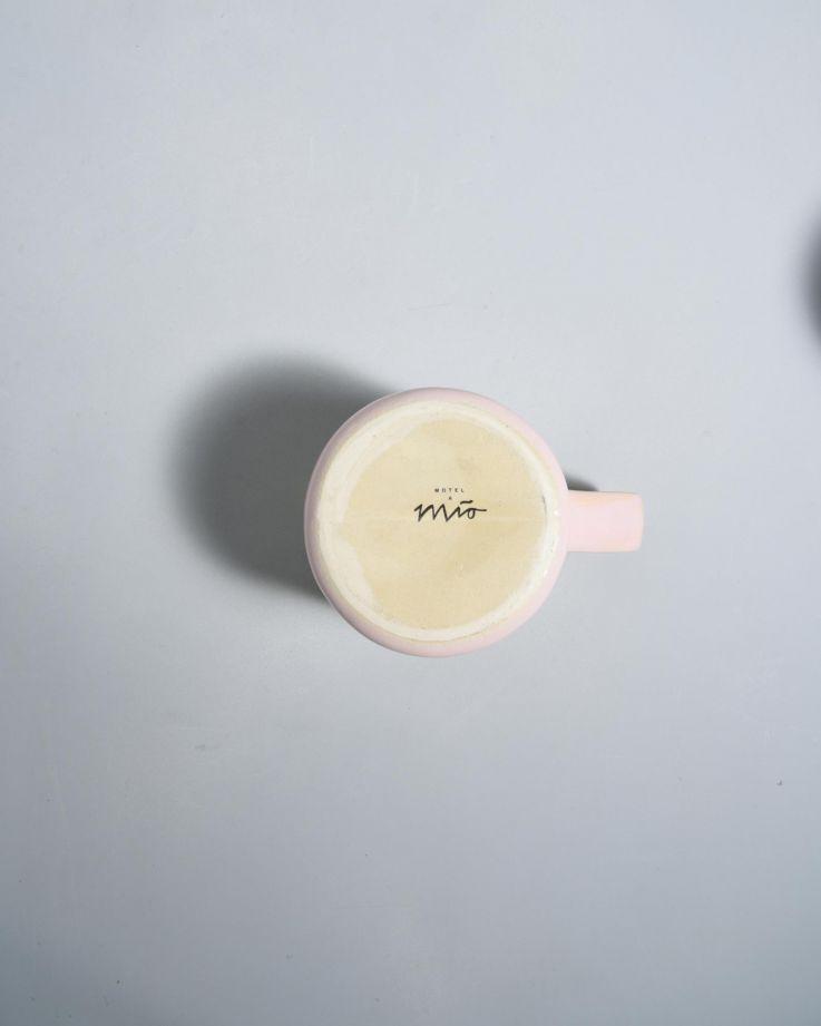 Nódoa Tasse rosa gesprenckelt 3