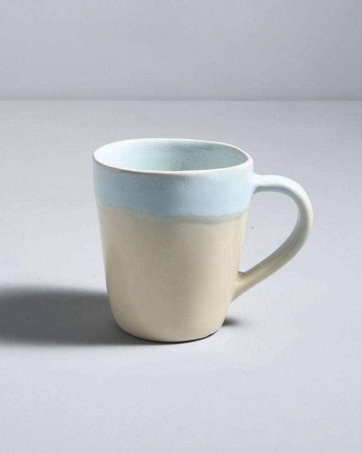 Tia Tasse blau beige 3