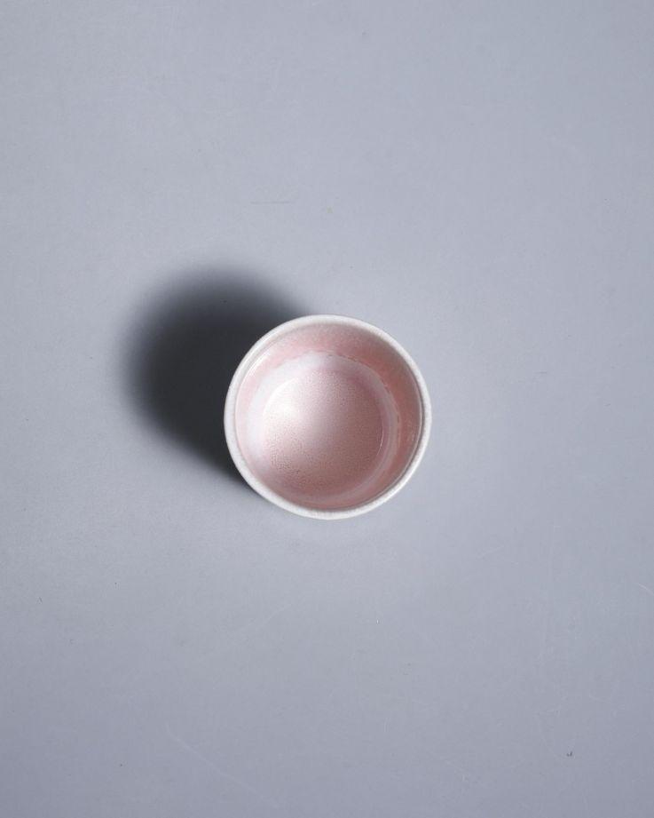Alachofra Becher klein peach 3