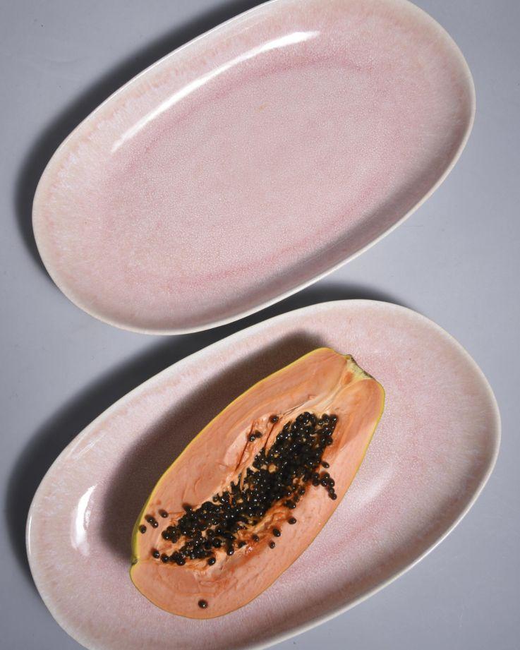 Alachofra Servierplatte L peach 3